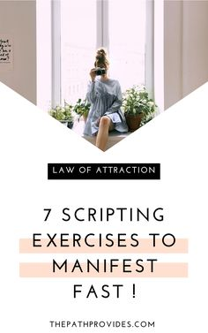 Scripting is one of the most powerful Law of Attraction tools. Try these 7 easy scripting exercises to manifest the life you truly want. Manifestation Journal, Manifestation Law Of Attraction, Law Of Attraction Affirmations, Law Of Attraction Love, Law Of Attraction Planner, Manifesting Money, Meditation For Beginners, How To Manifest, The Life