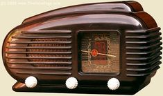 "vintage radio: 1953 Tesla 308U ""Talisman"" (Philips facturies in Cz were Tesla factories) • radio was 1st proven to work by Heinrich Rudolf Hertz, Germany 1888 but 1st commercial radio 1894 by Italian inventor Guglielmo Marconi • photo via theValvePage.com"