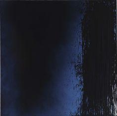 Hans Hartung (German-French, 1904-1989), T1980-K3, 1980. Acrylic on canvas, 180 x 180 cm.