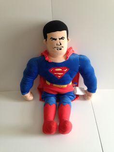Plush Superman by ThingsIBuyForYou on Etsy