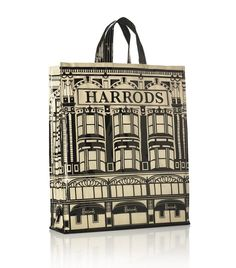 100% Authentic Harrods Shopping Bag