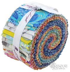 The Painted Garden Design Roll from Missouri Star Quilt Co   Love those jellyrolls for quilting