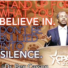 Stand up, speak out, let your voice be heard #bencarson2016 #50ip #conservative ##southcarolina #healinspirerevive