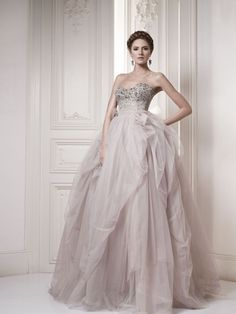 Ersa Wedding Houte Couture 2013- the purple color is pretty but brides wear white