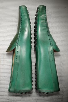 Green with envy for Tod's Gommino Moccasins.