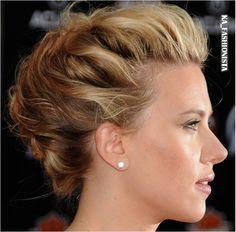 Scarlett Johansson look, Bridal updo