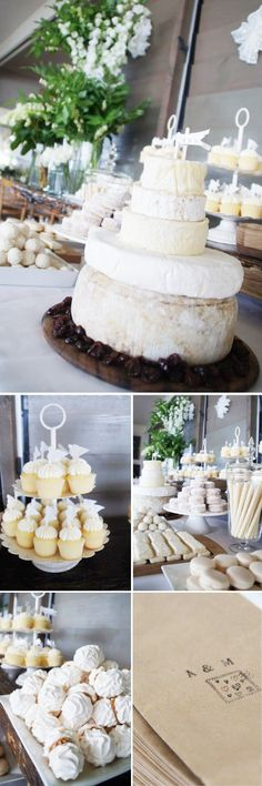 Dessert buffet with a yummy cheese cake!