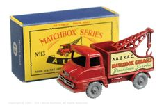 The South West Matchbox Collection | Regular Wheels | Vectis Toy Auctions Matchbox Regular Wheels No.13C Thames Trader Wreck Truck