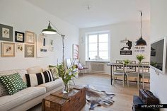 Stylish Apartment in Scandinavian Style in Stockholm | Afflante.com