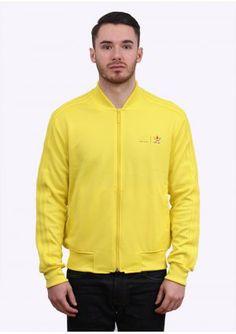 09e435b92 Adidas Originals x Pharrell Williams Supercolor Mono Colour Track Top -  Yellow