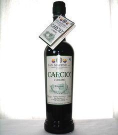 Carciò. Liquore di cardi e carciofi sardi. SardinianStore.com