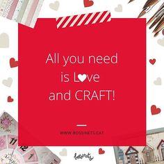 Si ets una enamorada de les manualitats, del fet a mà, ets somniadora, emprenedora, una mica artista i molt creativa, llavors aquest frase #craft és per a tú! Comparteix-la! Feliç Sant Valentí! . . . . . . . #diy #sanvalentin #santvalenti #vilanovailageltru #igersvilanova #manualitats #bossinets #handmade #hechoamano #fetama #talleresDIY #manualidades #miravng #miravilanovailageltru #miravilanova #scrap #santperederibes #sitges #talleresdescrap #scrapbooking #tallersbossinets #homedecor…