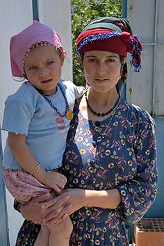 Young mother and child . TÜRKİYE..