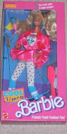 There is nothing like the good ole original barbie....not like these barbies today that are dressed like hoes!!!
