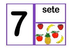 Números ilustrado | ALEGRIA EM ENSINAR EDUCAÇÃO Art Education, Symbols, Letters, Blog, 1, Professor, Sight Word Activities, Classroom Word Wall, Numbers For Kids