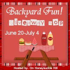 Backyard Fun Giveaway Sign Up