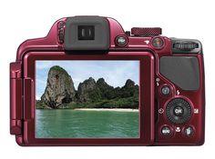 "NIKON Coolpix P520 18.1 MP 42X Optik Zoom 3.2"" LCD Ekran Dijital Fotoğraf Makinesi :: habireal.com"