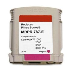 C Labs Compatible Pitney Bowes Postage Meter Cartridge Magenta As Shown Labs