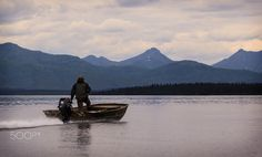 Going Home - My good friend Levi Pate going home from the flyfishing the Pak…