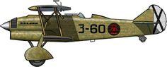 Un CR.32 de la Aviación Legionaria (Fuerza Aérea nacionalista) en 1937. Italian Air Force, Jet Engine, Aviation Art, Military Art, Military Aircraft, Warfare, Fiat, Wwii, Guerra Total
