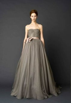 Wedding Ideas: verawang-gray-2012