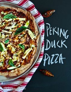 One Duck: Four Dishes – Peking Duck Pizza @Lorraine Elliott
