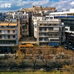 Acropolis, Athens, Rooftop, Greece, Cabin, Mansions, House Styles, City, Home