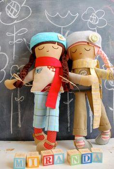 cute dolls from warm sugar