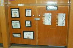 Attendance Clips transfer to lunch choices then can be transferred to behavior clip chart.