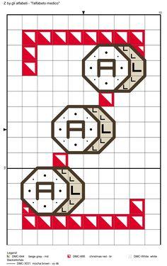 alfabeto medico Z