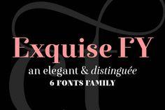 Exquise FY Regular - Serif - 1