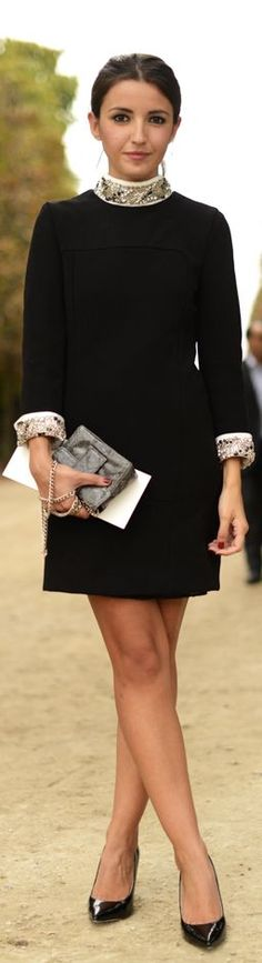 Love the simple elegance of this look! One could go anywhere with it.