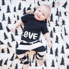 $7.92 2016 new Summer carters baby clothing baby boy clothes Love pattern baby Romper baby girl clothes newborn bebe clothing set-in Clothing Sets from Mother & Kids on Aliexpress.com | Alibaba Group