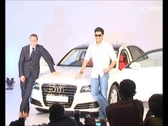 Abhishek Bachchan unveiles his new AUDI A8.