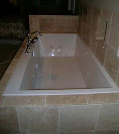 jetted tubs | Tiled Jet Tub | Flickr - Photo Sharing!