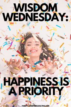 Learn how to make your happiness a priority and become a better version of yourself! #happy #behappy #loveyourself Tips To Be Happy, Are You Happy, Happiness Comes From Within, Happy Today, Positive Messages, Positive Mindset, Feeling Happy, How To Better Yourself, Priorities