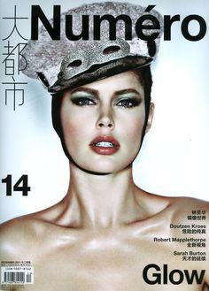 Doutzen Kroes, Numero China December 2011  More pics : http://formally-informal.com/2012/02/20/cover-girls-1-natalia-vodianova-doutzen-kroes-edie-campbell-love-magazine-numero/