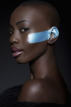 Dark skin is beautiful skin. Afro, Makeup Art, Beauty Makeup, Hair Beauty, 3 4 Face, Beauty And Fashion, Dark Skin Beauty, Black Beauty, My Black Is Beautiful