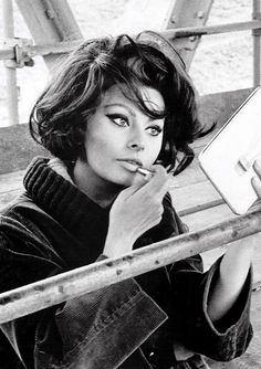 Sophia Loren 1960's. she is so beautiful!