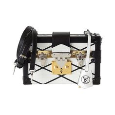 Louis Vuitton Bag Petite Malle Epi Trunk white nwt