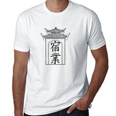 Karma  Chinese  Japanese Asian Kanji Characters Mens TShirt * Amazon most trusted e-retailer  #TShirtsforBuddhistMale