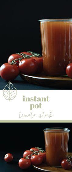 Instant Pot Tomato Stock