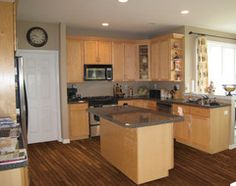 1000 Images About Kitchen On Pinterest Solid Wood Kitchen Cabinets, Maple Cream And Islands photo - 5