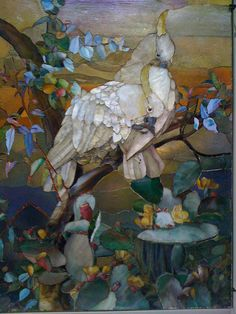 Would make a beautiful art Quilt. Exposition Louis Comfort Tiffany – Musée du Luxembourg, Paris