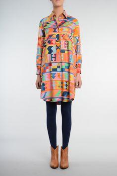 Aguayo Dress - Aguayo Print