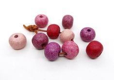 Round Ceramic Beads Unglazed Matte Balls Greek Ceramic | Etsy Red Purple, Pink, Diy Jewelry Supplies, Ceramic Beads, Coupon Codes, Balls, Stud Earrings, Ceramics, Greek