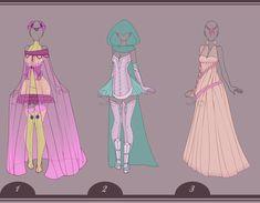 09 | Outfit Design Adopt's - [CLOSED] by Llamarsio.deviantart.com on @DeviantArt