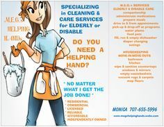 How To: Make a Flyer for a Cleaning Service Cleaning Service Flyer, Cleaning Flyers, Spring Cleaning Checklist, Cleaning Companies, House Cleaning Services, Cleaning Business, Cleaning With Hydrogen Peroxide, Morning Routine Kids, Cleaning Company Logo