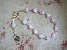 Peitho Pocket Prayer Beads: Greek Goddess of Persuasion, Seduction and Charm, Companion of Aphrodite by HearthfireHandworks on Etsy