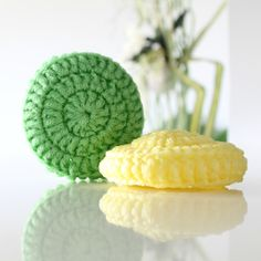 LARGE Scrubbie - Tampons à récurer GRANDS Reduce Waste, Zero Waste, Nylons, Exfoliating Sponge, Eco Friendly Environment, Oven Top, Kitchen Dishes, Filets, Large Format